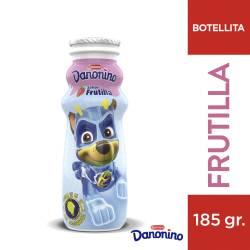Alimento Lácteo Bebible Danonino Frutilla Botella x 185 g.