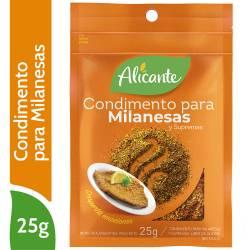 Condimento para Milanesas y Supremas Alicante x 25 g.