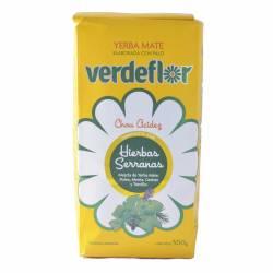 Yerba Mate Compuesta Verdeflor Hierbas Serranas x 500 g.