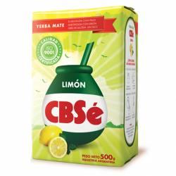 Yerba Mate con Palo CBSé Limón x 500 g.