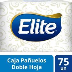 Pañuelos Papel Elite Caja x 75 un.
