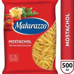 Fideos Mostachol Matarazzo x 500 g.