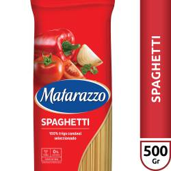 Fideos Spaghetti Matarazzo x 500 g.