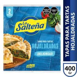 Tapas para Pascualina Hojaldrada x 2 un. La Salteña x 400 g.