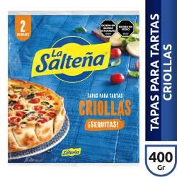 Tapas Criollas para Pascualina La Salteña x 2 un. 400 g.