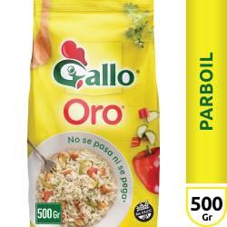 Arroz Parbolizado Gallo Bolsa x 500 g.
