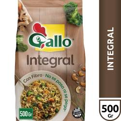 Arroz Integral Gallo Bolsa x 500 g.