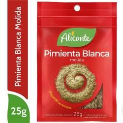 Pimienta Blanca Alicante Molida x 25 g.