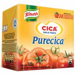 Puré de Tomates Cica Brick x 520 g.