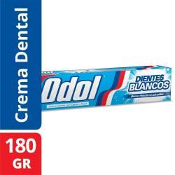 Crema Dental Odol Más blancura x 180 g.