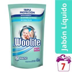 Detergente Líquido Bebé Lavarropas Woolite x 450 cc.