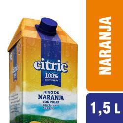 Jugo Naranja con Pulpa Citric x 1,5 lt.