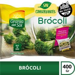 Brócoli Granja del Sol x 400 gr.