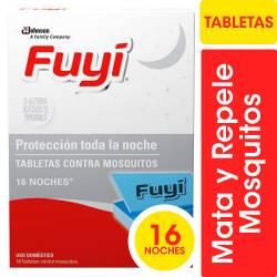 Insecticida Tabletas Fuyí Repuesto x 16 un.