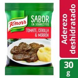 Saborizante x 4 sobres Knorr Tomate-Cebolla x 30 g.