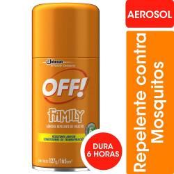 Repelente Aerosol Off x 165 cc.