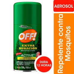 Repelente Aerosol Off Extra Duración x 165 cc.