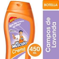 Limpiador Cremoso Mr. Musculo Lavanda x 450 cc.