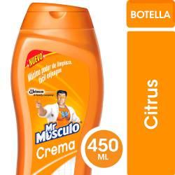 Limpiador Cremoso Mr. Musculo Citrus x 450 cc.