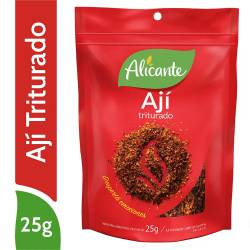 Ají Triturado Alicante x 25 g.