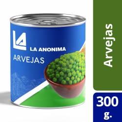 Arvejas Secas Remojadas La Anónima x 300 g.