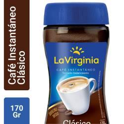 Café Instantáneo La Virginia x 170 g.