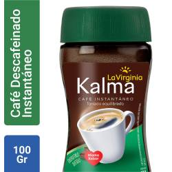 Café Instantáneo Descafeinado Kalma x 100 g.