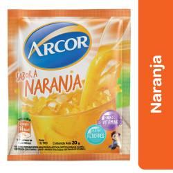 Polvo para preparar jugo Arcor Naranja x 20 g.
