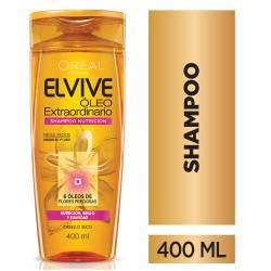 Shampoo Elvive Óleo Nutrición x 400 cc.