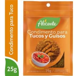 Condimento para Tucos y Guisos Alicante x 25 g.