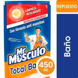 Limpiador Líquido Baño Mr. Musculo Doy Pack x 450 cc.