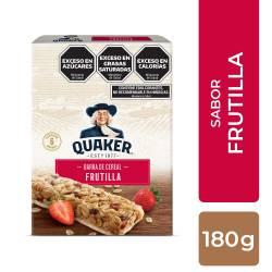 Cereal en Barra Quaker con Crema x 6 un. x 180 g.
