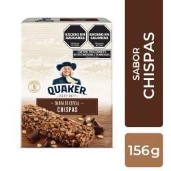 Cereal en Barra Chispa Chocolate Quaker x 6 un. x 156 g.
