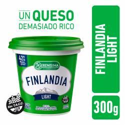 Queso Untable Light Finlandia x 300 g.