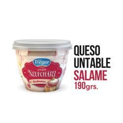Queso Untable Neufchatel Tregar Salame x 190 g.