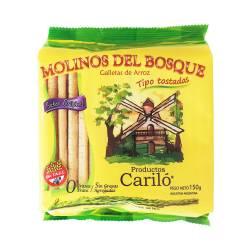 Tostadas de Arroz sabor Original Molinos del Bosque x 150 g.