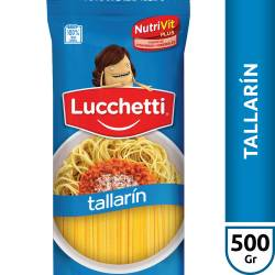 Fideos Tallarín Lucchetti x 500 g.