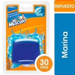 Canasta Líquida para Inodoros Repuesto Mr. Musculo Marina x 50 cc.