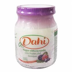 Yogur Descremado Batido Dahi Batido Frutos del Bosque x 200 g.