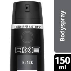Desodorante Aerosol Axe Black x 150 cc.
