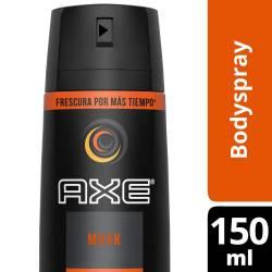 Desodorante Aerosol Axe Musk x 150 cc.