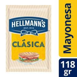 Mayonesa Hellmanns Clásica Sachet x 118 g.