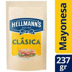 Mayonesa Hellmanns Clásica Doy Pack x 237 g.