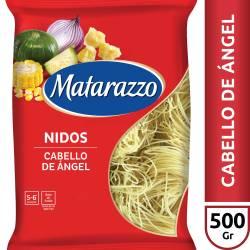 Fideos Cabello de Ángel Matarazzo x 500 g.