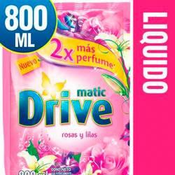 Jabón Líquido para Ropa Drive Rosas y Lilas Doy Pack x 800 cc.