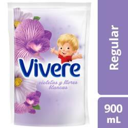 Suavizante Vivere Violetas y Flores Blancas Doy Pack x 900 cc.