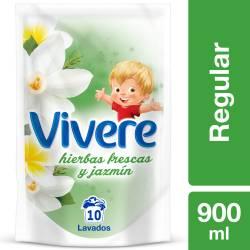 Suavizante Vivere Hierbas Frescas y Jazmín Doy Pack x 900 cc.