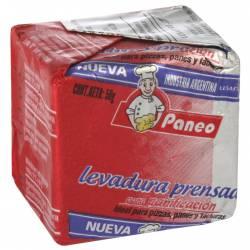 Levadura Fresca en Cubito Paneo x 50 g.