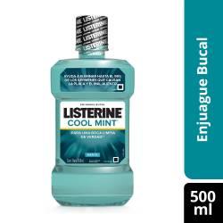 Enjuague Bucal Listerine Cool Mint x 500 cc.