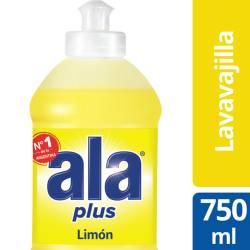 Detergente Líquido Ala Limón Plus x 750 cc.